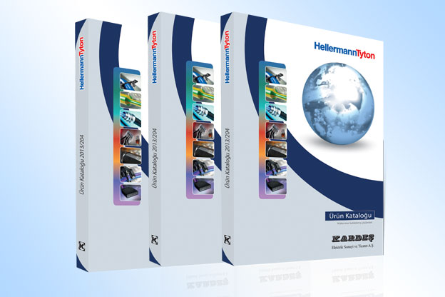 2014 HellermannTyton product catalog printed in Turkish