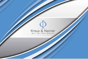 2015-2016 Kraus&Naimer Katalog T�rk�e bas�ld�